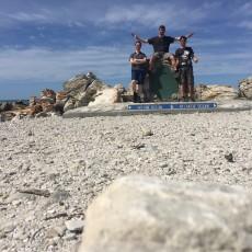 Rijden, rijden en nog ee… Kaap Algulhas